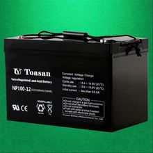 Reliable Quality Toasan Sealed Rechargeable VRLA 12V 100AH AGM UPS Battery for Storage -NP100-12