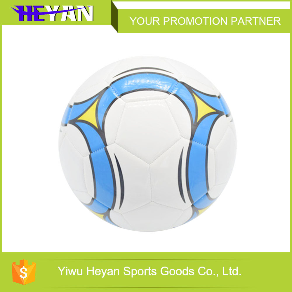 Customized sports pvc foam training soccer ball / football for games