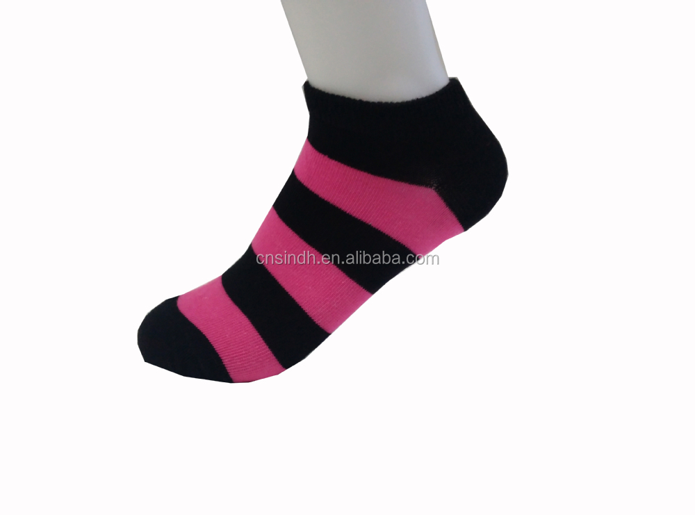 random designs lady ankle socks