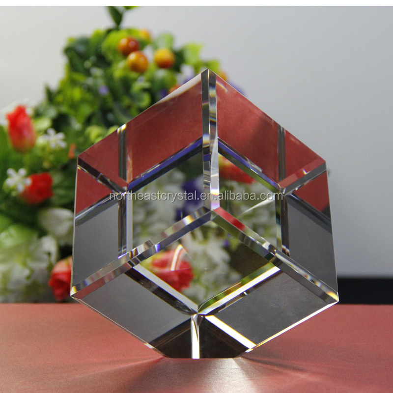Factory Wholesale K9 Blank Crystal Block Cube