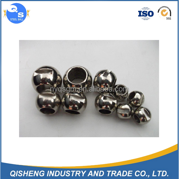 AISI 304 316 316L 420C 440C 414 1mm To 100mm Drilled Stainless Steel Ball With Hole