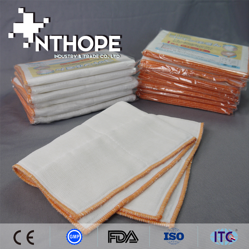 microfiber cleaning cotton raw fabrics for dish cloths