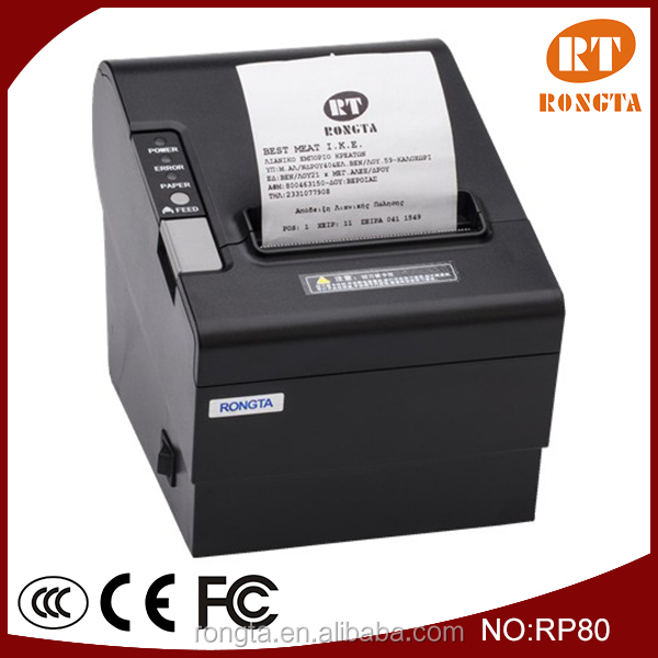 cheque printing printer/3 inch thermal receipt printer RP80
