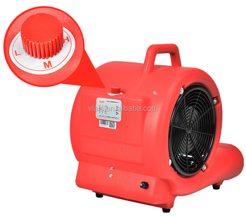 3-speed pressure electric air blower fans for floor and carpet drying
