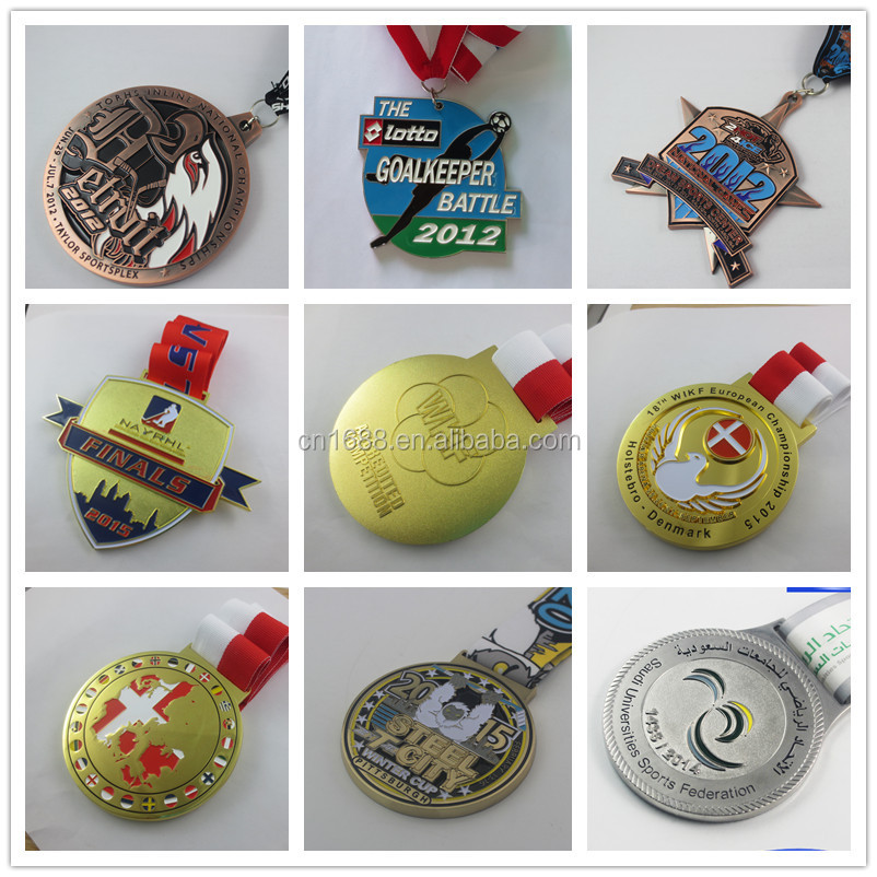 Professional manufacturer make metal custom medal
