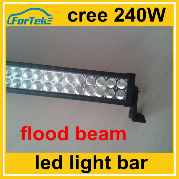 42 inch auto tuning light offroad 240W led bar light flood beam