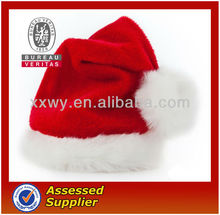 Polyester promotional novetly mini Christmas hat