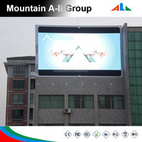Led Screen Display Outdoor P10 P16 / Full Color Led Double Sided Display Video P16 P10