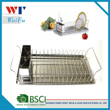 Commercial kitchen storage rack stainless steel dish rack kitchen plate rack