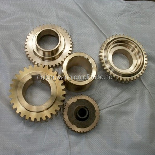 Precision machining of f parallel shaft helical gear shaft