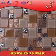 decoration sticker bathroom china high quality glass mosaic kitchen wall tile