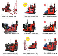 HGY-200 geotechnical drilling rig with SPT hammer