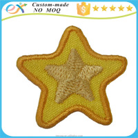 factory price custom embroidered star patch picture