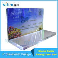 Acrylic dispaly stand with led slim light box