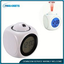 Battery powered digital car clock h0t8C digital weather station table clock for sale