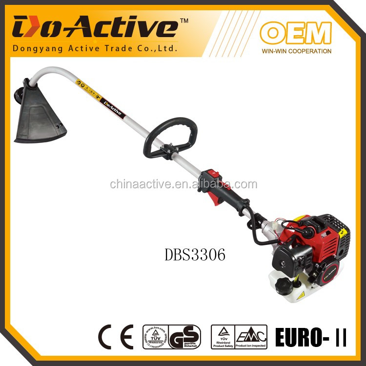 33CC Portable Grass CutterNew DesignPetrol Brush Cutter popular