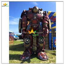Super Queen- 2.5M Tall Marvel Avengers Hulkbuster Cosplay Superhero Costume for Aults
