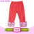 Boutique Sew Sassy Icing Legging Toddler Baby Ruffle Capri Rainbow Icing Leggings Triple Ruffles Pants Wholesale Icing Pants