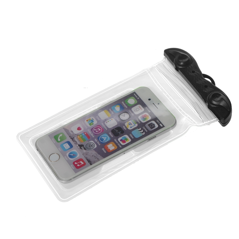 "Professional universal waterproof cell phone case used for iphone 6/6 plus mobile phone size 6"" and below"