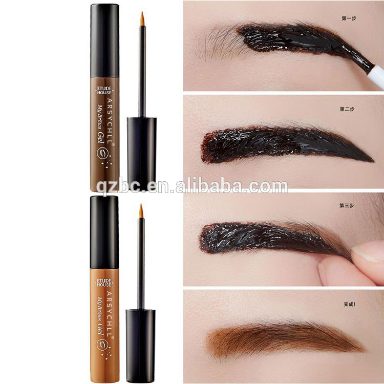 private label wholesale semi permanent eyebrow dye