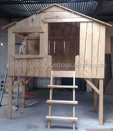 baumhaus bett kinder bett kinderbett produkt id 167832078. Black Bedroom Furniture Sets. Home Design Ideas