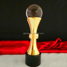 Modern style special design crystal trophy and award from China