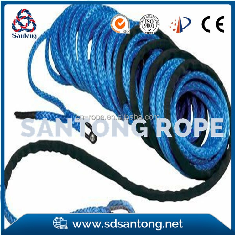 Braided Winch Rope for Jeep, Truck & SUV, UHMWPE, ATV, towing