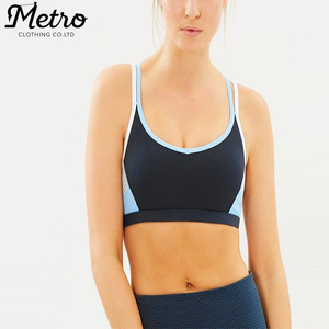 Wholesale fitness women active wear sex sports bra