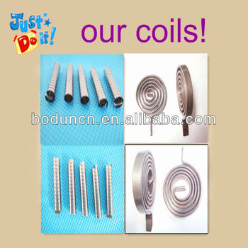 ISO Standard Bi-Metal Thermostat Coil Spiral Spring Coil
