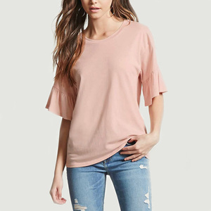 china low price products custom women clothes kaftan tops short sleeve ladies blouse for office