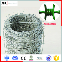 Wholesale PVC Galvanized Stainless Steel Barb Fencing Fence of Kenya Philippines Weight Length Per Meter Price Roll Barbed Wire