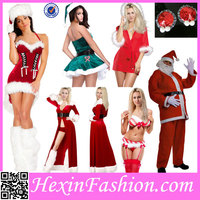 Accept Lable Party Carnival Adult Christmas Costume For Women