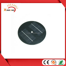 8V 200mA Round PET lamination Small Solar Panel for toys