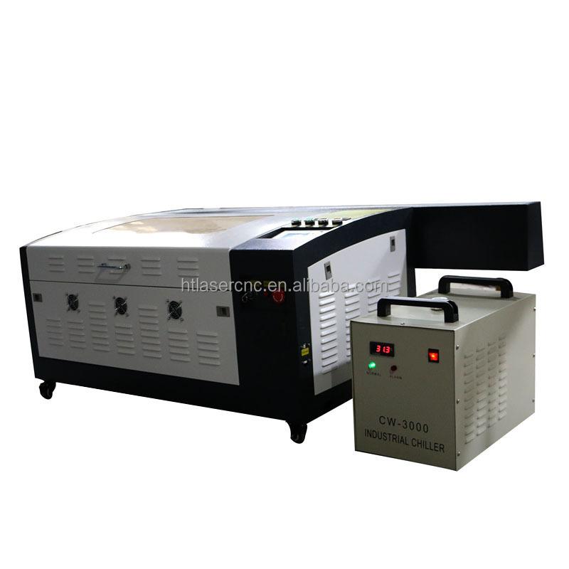 Machine Découpe Laser Bois - Populaire machine HT 460 laser machine de découpe pour balsa bois Machines de gravure de laser