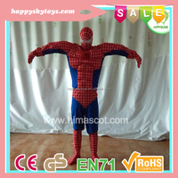 HI CE high quality toys!!! used popular famous movie spiderman mascot costume for sale