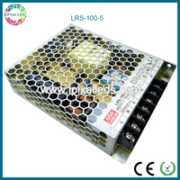 Meanwell LED light driver 5v 100w 18A Single Output Switching Power Supply