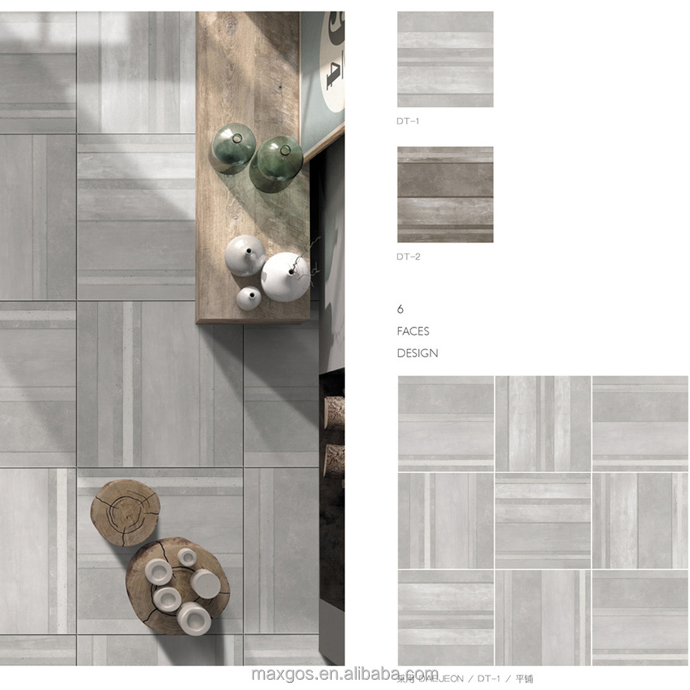 5D inkjet Venice Cement interior 24*24 porcelain floor tile