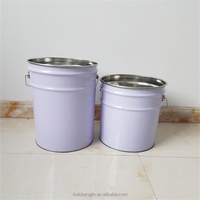 metal tin bucket/drum/can/barrel for resin packaging