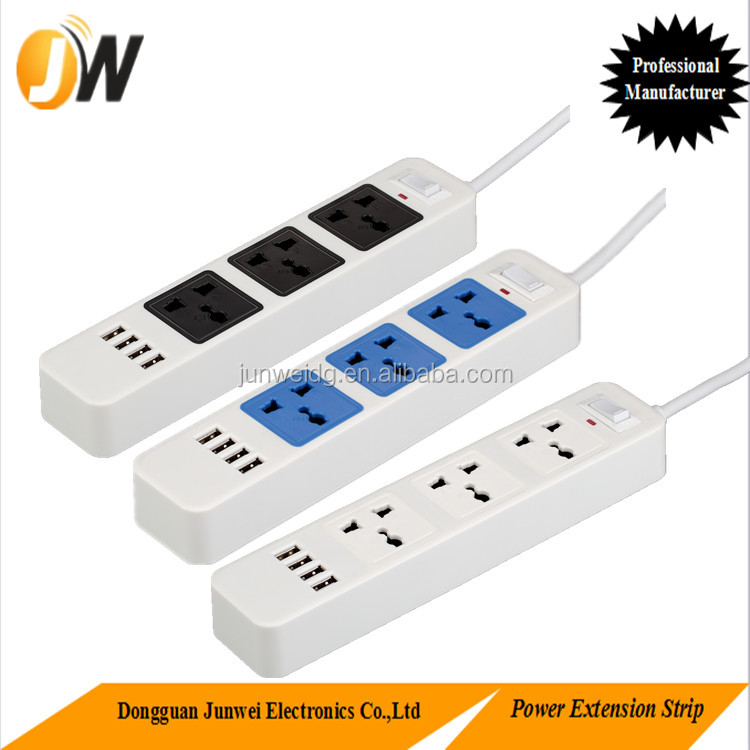 Led Strip Power Supply Multi Socket Extension Cord Mini Electrical Plug