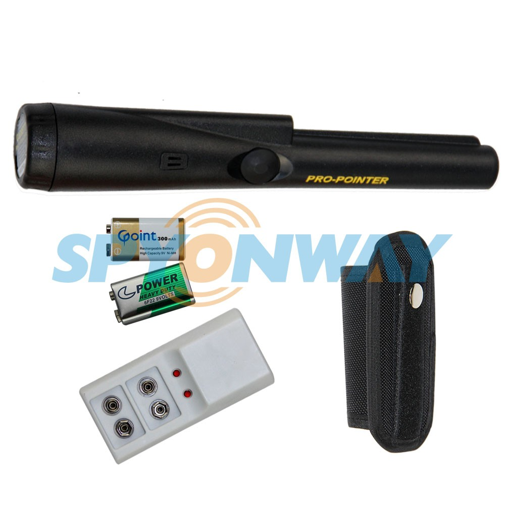 High Sensitivity Security Detecting Hand Held Metal Detector Pulse Induction