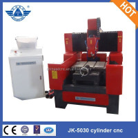 Gantry moving Mini heavy duty 4 axis lathe cnc router for wood stone