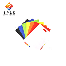 New design custom cheap shopping die cut recycle nonwoven bag