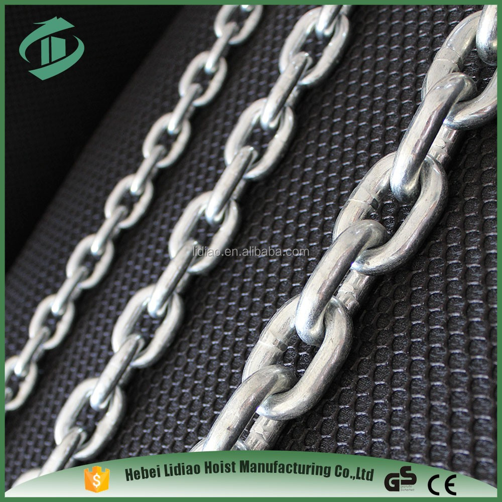 Trade Assurance Standard Alloy Steel Grade 80 Lifting galvanized Chain