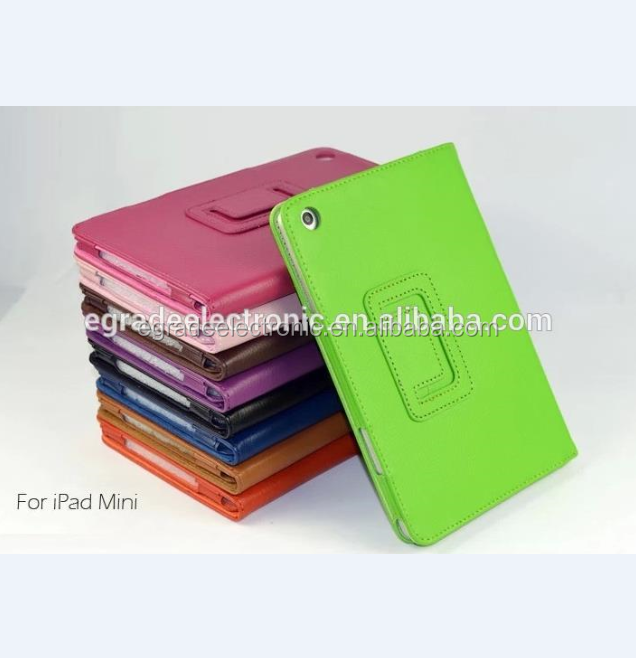 Ultra Slim PU Leather Case with Stand Flip Leather Case for iPad Mini /2