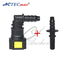 7.89 fuel line pipe quick connector for use with rubber tube