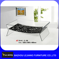 Living Room Furniture Centre Glass Table small glass tea table