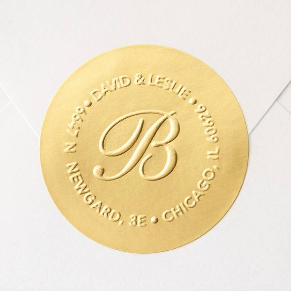 High Quality Color Printed Private logo Gold Foil Embossed <strong>Label</strong> Sticker