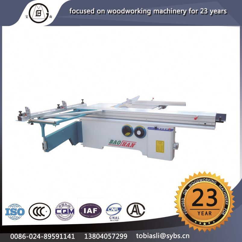 NO MJ-45Y Low price stable performance circular wooden veneer sliding table saw cutting machine panel saw