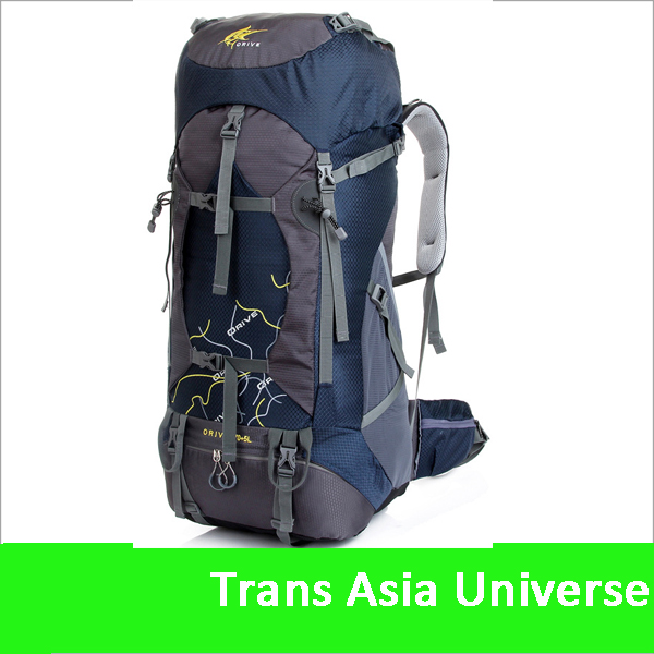 Hot Sale custom cheap 80 liter waterproof backpack for camping