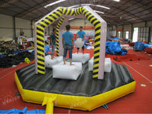 commercial inflatable sports games inflatable wrecking ball demolition zone